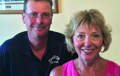 Dan and Laura Caflisch